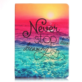 Leather Flip Cover Case for Apple iPad Pro 9.7 inch (Never Stop Dreaming) Price Philippines