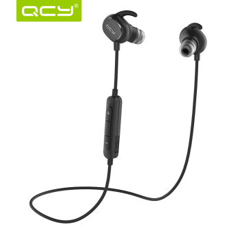 QCY QY19 Wireless Bluetooth Headphones Sport Sweatproof In-Ear Stereo Earbuds V4.1 Earphones – Black - Intl Price Philippines
