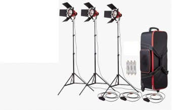3KITS 800W Dimmer Switch Studio Video Red Head Light Kit +Bulb+Carry Bag Price Philippines