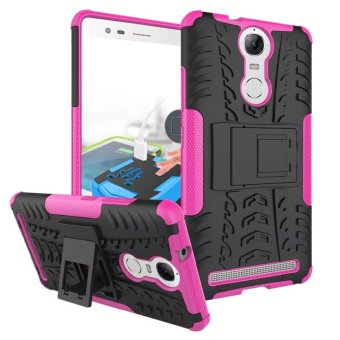 Harga BYT Rugged Dazzle Case for Lenovo K5 Note with Kickstand (Rose)