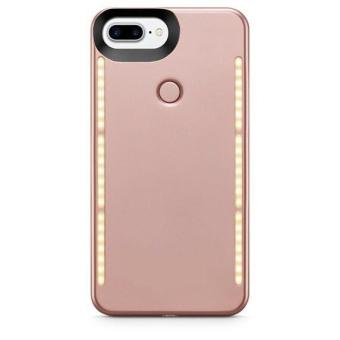 Harga Lumee Duo LED Selfie Case for Iphone 7(Rosegold)