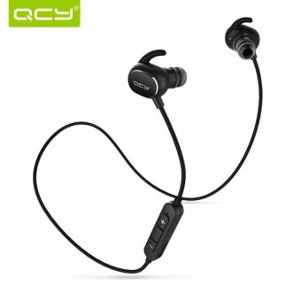 QCY-QY19 Bluetooth Headset Wireless Earphone English Voice and Smartphones (Black) Price Philippines