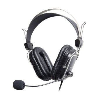 A4Tech HS-60 Stereo Headset (Black) Price Philippines