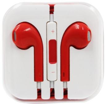 Harga Wawawei Stereo Earphones with MIC (Red)