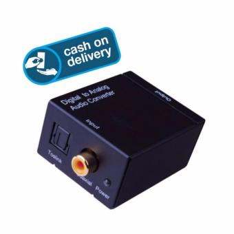 Harga Digital to Analog Audio Converter, optical/Coaxial Input and R/LStereo Output-LOCAL SUPPLIER