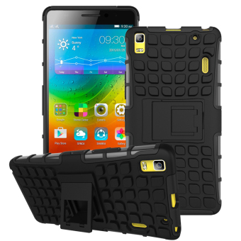 TPU + PC Armor Hybrid Case Cover for Lenovo A7000 / Lenovo K3 Note (Black) Price Philippines