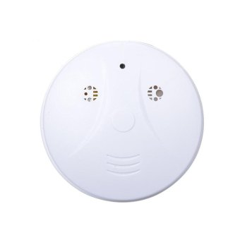 Harga HD WiFi IP Camera Hidden Smoke Detector DVR Nanny Cam Motion Detector - intl