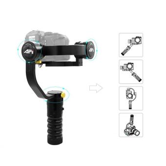AFI VS-3SD Handheld 3-Axis Brushless Remote Control Handheld Steady Gimbal Stabilizer for Canon 5D 6D 7D for Sony A7 A7II A7R A7R2 A7S A7SII for GH4 DSLR and mirrorless Camera Support Weight 1.7kg - intl Price Philippines
