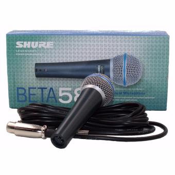 Harga Shure Beta 58A Vocal Wired Microphone