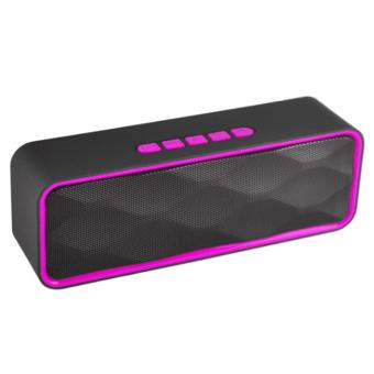 LC Excellent LC-209 Mini Portable Bluetooth Dual Speakers Ultra Bass (Black) Price Philippines