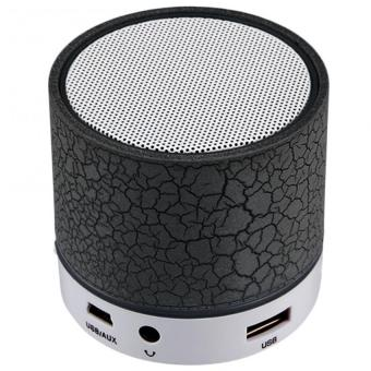 Harga S-10 Mini LED Bluetooth Speaker (Black)