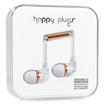 Happy Plugs In-Ear Headphone Unik Edition (White Marble Rose) Price Philippines