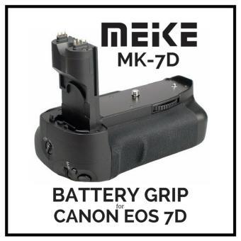 Harga MeiKe MK-7D Battery Grip for Canon 7D like BG-E7