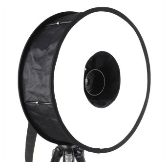 "Universal 18"" 46cm Easy-fold Ring Flash Softbox Diffuser Reflector Price Philippines"