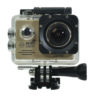 SJ7000 Action Camera 2-inch LCD Wifi Waterproof Sports Cam Gold Price Philippines