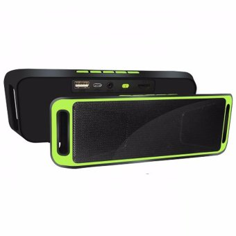 MegaBass Portable Bluetooth Wireless Speaker A2DP (Green) Price Philippines