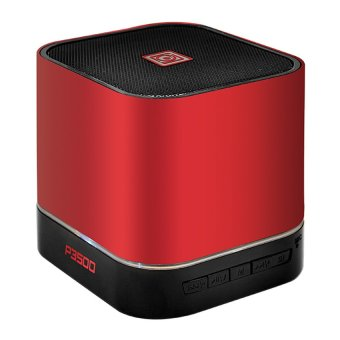 Harga Sonic Gear Audiobox P3500 10W Bluetooth Speaker with Multiple Input + FM radio (Red)