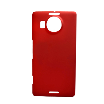 Harga Rubberized Hard Case for Microsoft Lumia 950XL (Red)