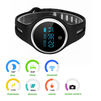 Harga Excelvan E07 Smart Wristband for Android and IOS(Black)