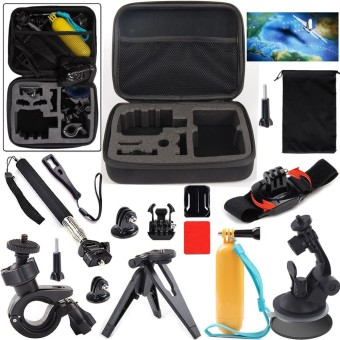 Action Sports Camera Accessories Kit for SOOCOO/SJCAM/Gopro Action Camera Price Philippines