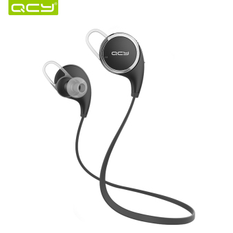 QCY QY8 Bluetooth 4.1 Headphone Earphone Wireless Sport Headset with Microphone - Black - Intl Price Philippines