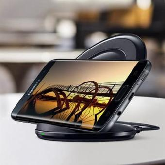 Wireless Fast Charger with Stand for Samsung s6,s6 edge,s7,s7 edge,note5(black) Price Philippines