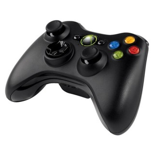 Harga Wireless Gamepad Controller For Microsoft For Xbox Slim 360(Black)