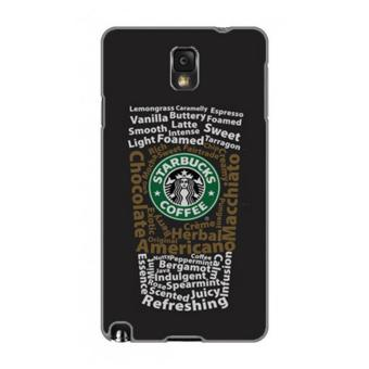 Harga PlanetCases Starbucks Hard Case for Samsung Note 3