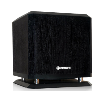 Crown BF-10W Active Sub-Woofer (Black) Home Entertainment Price Philippines