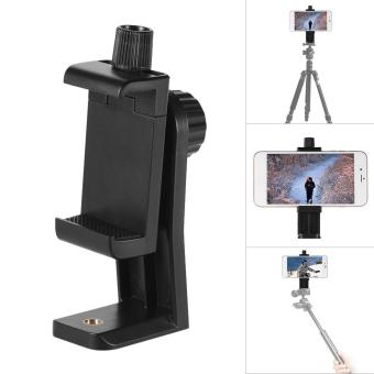 Andoer CB1 Plastic Smartphone Clip Holder Stand Support Clamp Frame Bracket Mount for iPhone 7/7s/6/6s for Samsung Huawei Cellphone Selfie Portrait Outdoor Video - intl Price Philippines
