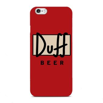 Harga PlanetCases Duff Hard Plastic Case for iPhone 6/6s