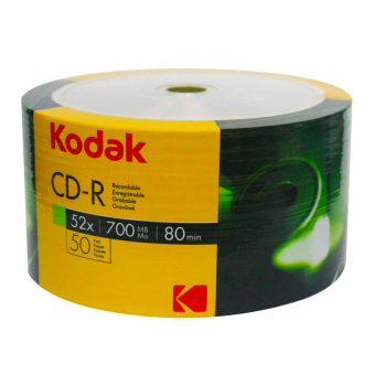 Kodak CD-R 700MB Blank CD, 50 pieces Price Philippines