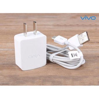 Harga VIVO-Travel Home Quick Charger For Smart Phone Whit USB Cable