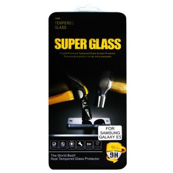 Super Glass Premium Tempered Glass for Samsung Galaxy E5 (Clear) Price Philippines