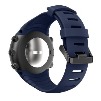 Harga New Fashion Sports Silicone Bracelet Strap Band For Suunto Core Blue - intl