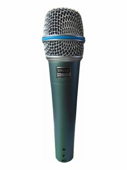 Harga Shure Beta 57A Precision Crafted Vocal Microphone (Grey/Green)