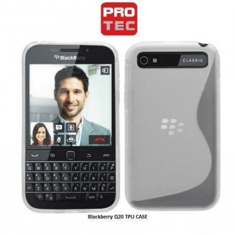 Protec TPU Case for BlackBerry Q20 (Clear) Price Philippines
