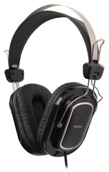 A4Tech HS-200 Stereo Headset (Black) Price Philippines