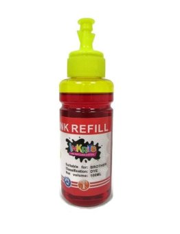 Inkrite Dye Ink for Brother Inkjet Printers 100 ml (Yellow) Price Philippines