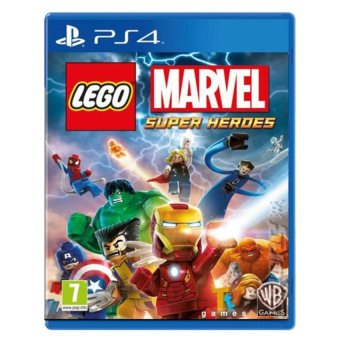 Harga Warner Bros. Interactive Lego Marvel Superheroes Game for PS4