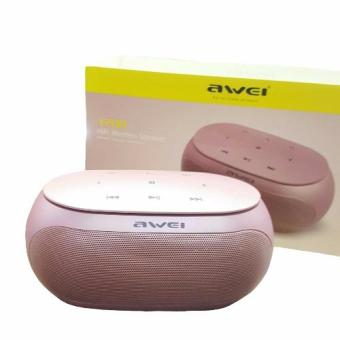 Awei Y200 HI-FI Portable Bluetooth Speaker (rose gold) Price Philippines