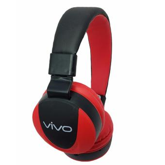 Harga Vivo MS771 Bluetooth Headphones (Black/Red)