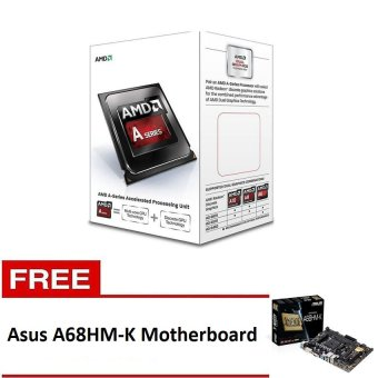 Amd A4-6300 3.7ghz Processor with Free Asus A68HM-K Motherboard Price Philippines
