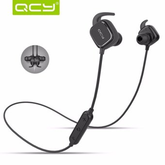 QCY QY12 New Sport Stereo Magnetic Adsorption Bluetooth 4.1 Headphone Earphone - intl Price Philippines