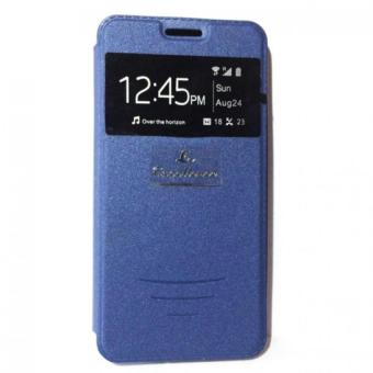 LC S View Flip Cover Leather Case for Asus Zenfone 5 (Blue) Price Philippines