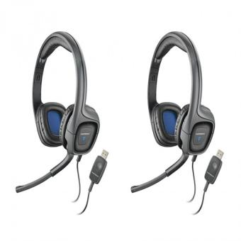 Plantronics Audio 655 USB Multimedia Headset Set of 2 Price Philippines