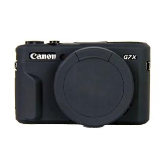 Harga Soft Silicone Rubber Camera Case for Canon PowerShot G7 X Mark II g7x2 - intl