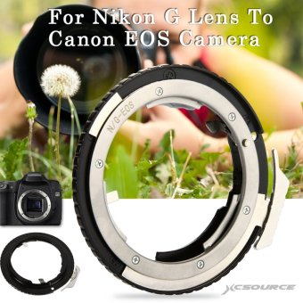 Adapter Ring For Nikon G AF-S AI F Lens to Canon EOS EF Mount DSLR Camera Price Philippines