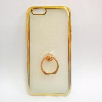 Nice TPU Case with Ring Stent for Iphone 5/5s (Gold) Price Philippines