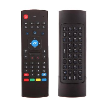 Harga 2.4GHz Fly Air Mouse Wireless Keyboard Remote for M8 MX MXQ MX3 T8 XBMC - intl